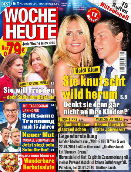Woche Heute October 01, 2014 00:00