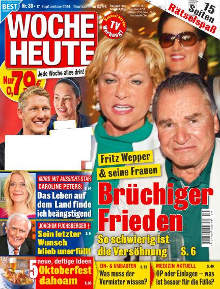 Woche Heute September 17, 2014 00:00