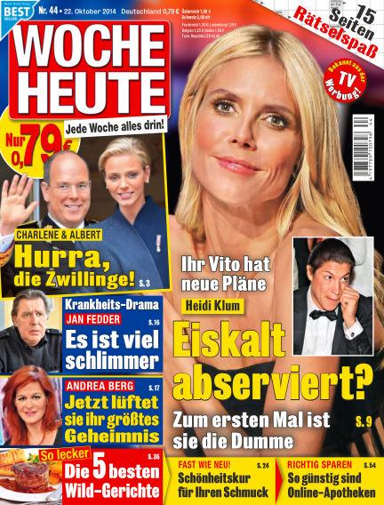 Woche Heute October 22, 2014 00:00