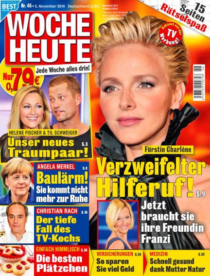 Woche Heute November 05, 2014 00:00