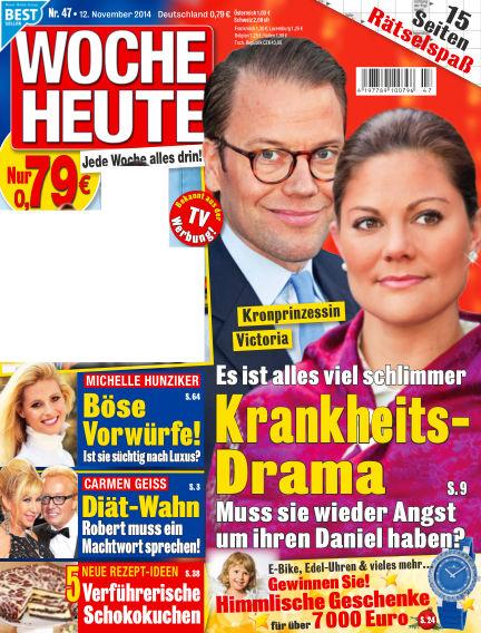 Woche Heute November 12, 2014 00:00