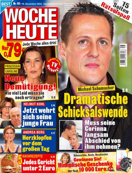Woche Heute November 19, 2014 00:00
