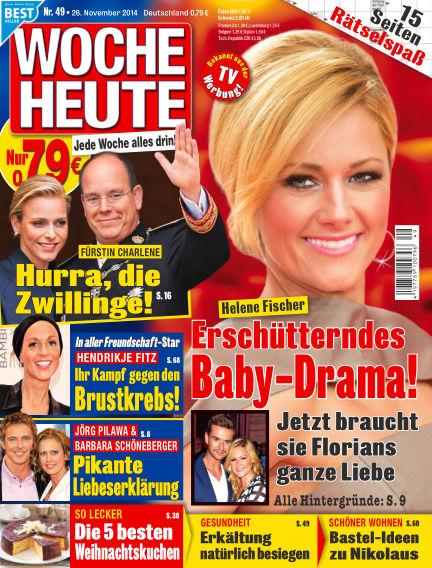 Woche Heute November 26, 2014 00:00