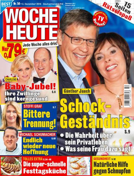 Woche Heute December 03, 2014 00:00