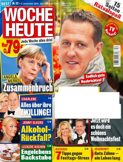 Woche Heute December 17, 2014 00:00
