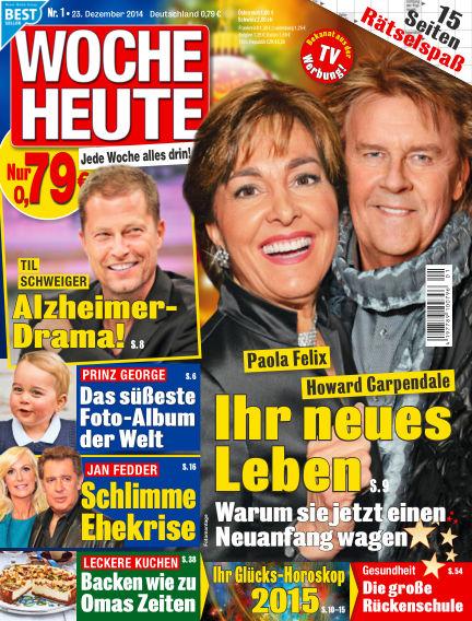 Woche Heute December 23, 2014 00:00