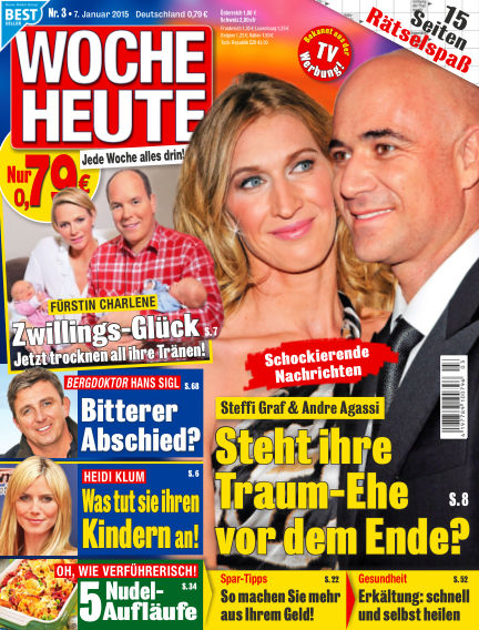 Woche Heute January 07, 2015 00:00