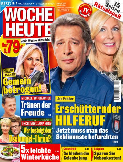 Woche Heute January 14, 2015 00:00