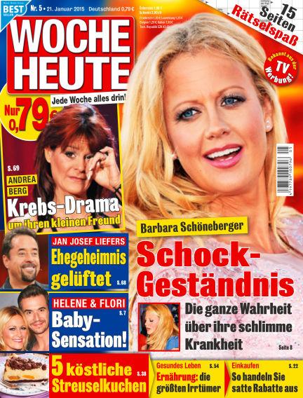 Woche Heute January 21, 2015 00:00