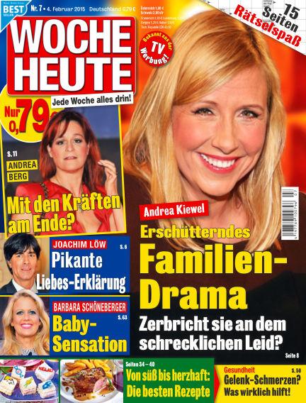 Woche Heute February 04, 2015 00:00