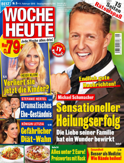 Woche Heute February 11, 2015 00:00