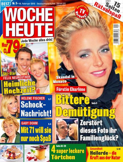 Woche Heute February 18, 2015 00:00