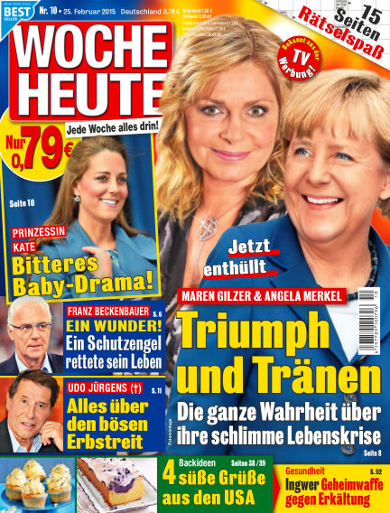 Woche Heute February 25, 2015 00:00