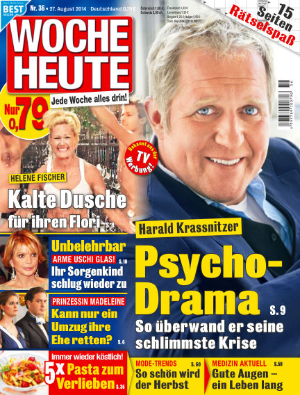 Woche Heute August 27, 2014 00:00