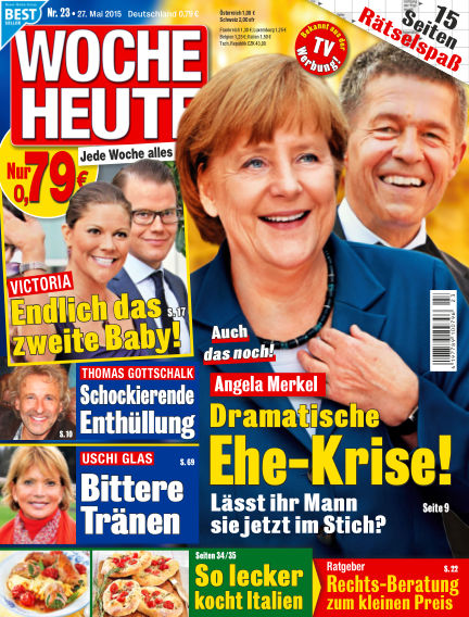 Woche Heute May 27, 2015 00:00
