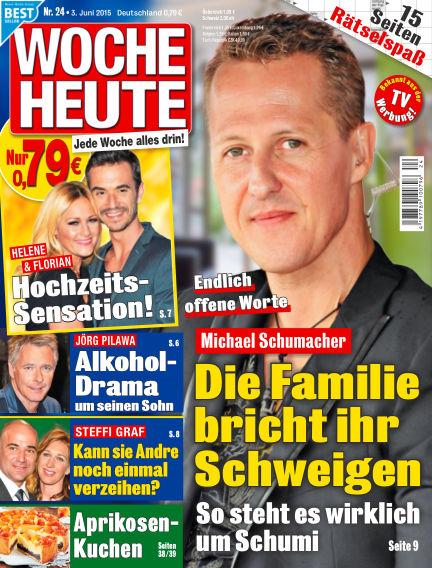 Woche Heute June 03, 2015 00:00