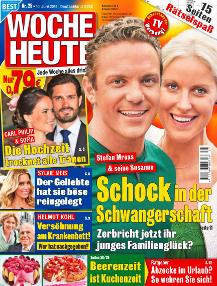 Woche Heute June 10, 2015 00:00
