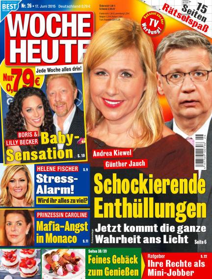 Woche Heute June 17, 2015 00:00
