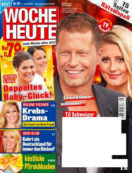 Woche Heute July 01, 2015 00:00
