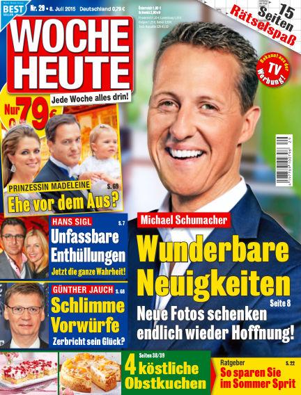 Woche Heute July 08, 2015 00:00
