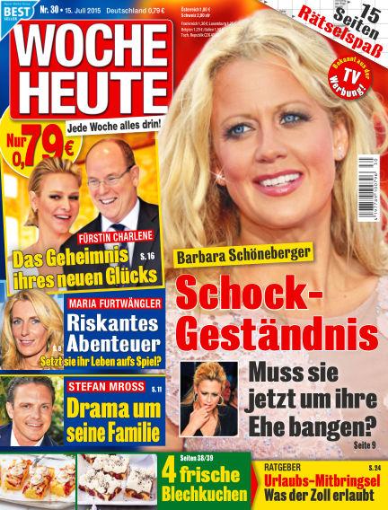 Woche Heute July 15, 2015 00:00