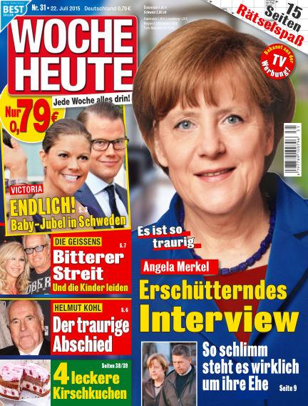 Woche Heute July 22, 2015 00:00