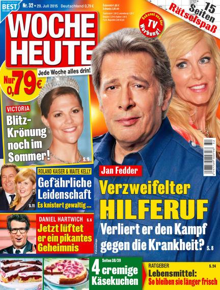 Woche Heute July 29, 2015 00:00