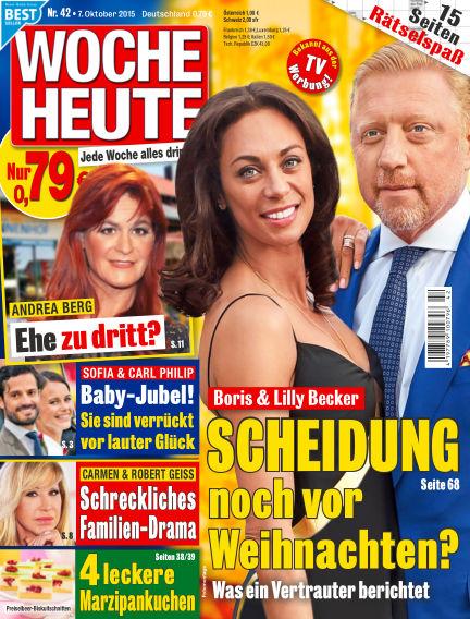Woche Heute October 07, 2015 00:00