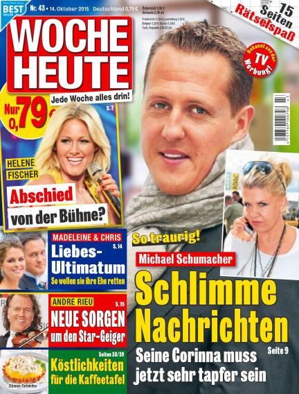 Woche Heute October 14, 2015 00:00