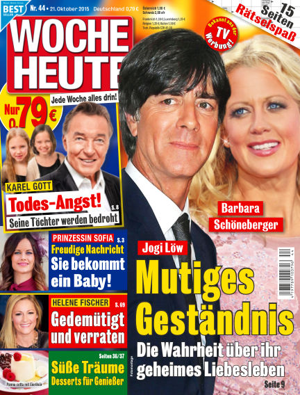 Woche Heute October 21, 2015 00:00