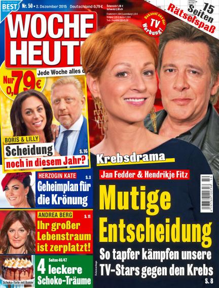 Woche Heute December 02, 2015 00:00
