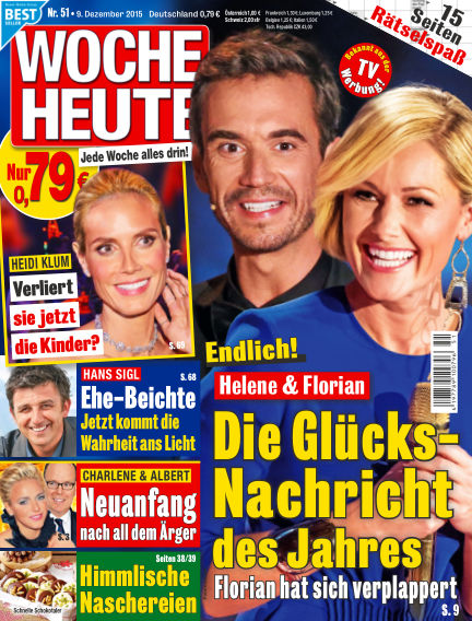Woche Heute December 09, 2015 00:00