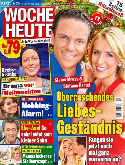 Woche Heute December 16, 2015 00:00