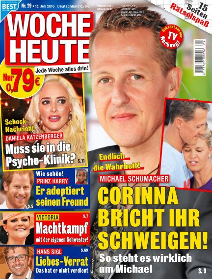 Woche Heute July 13, 2016 00:00