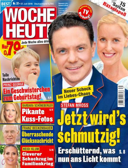 Woche Heute July 27, 2016 00:00