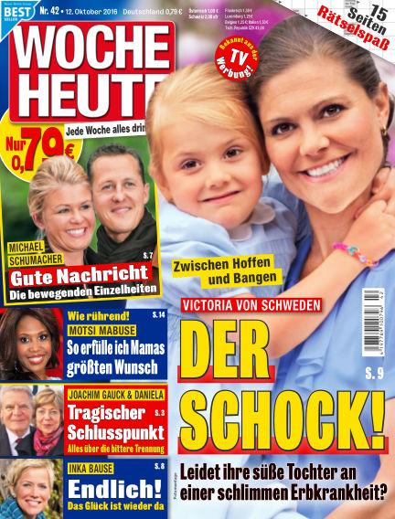 Woche Heute October 12, 2016 00:00
