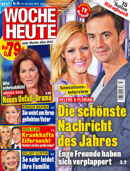 Woche Heute October 19, 2016 00:00