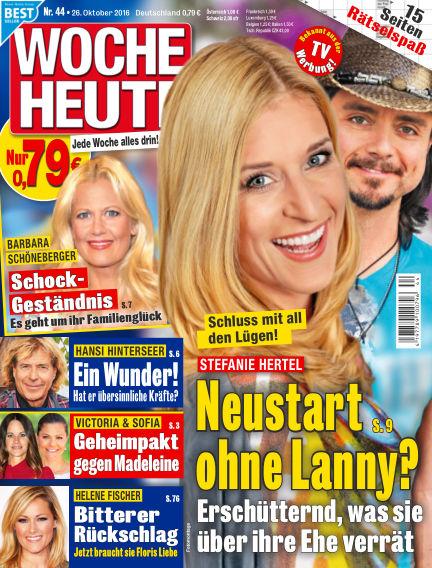 Woche Heute October 26, 2016 00:00