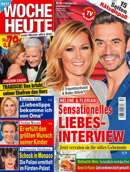 Woche Heute December 07, 2016 00:00