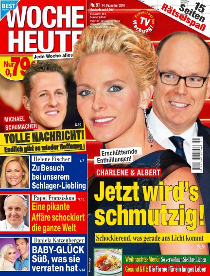 Woche Heute December 14, 2016 00:00
