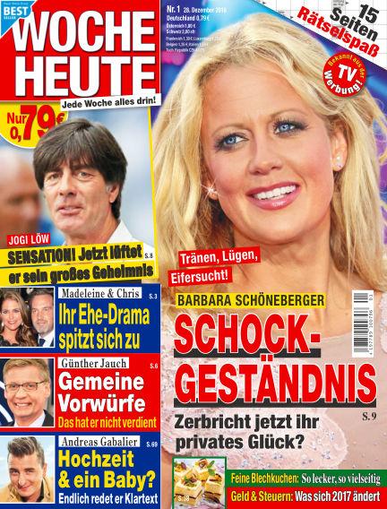 Woche Heute December 28, 2016 00:00
