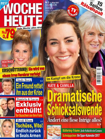 Woche Heute January 04, 2017 00:00