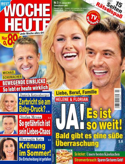 Woche Heute January 11, 2017 00:00