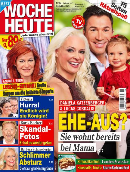 Woche Heute February 01, 2017 00:00