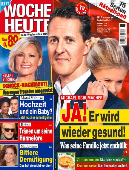 Woche Heute February 08, 2017 00:00