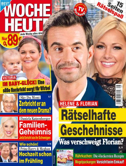 Woche Heute February 15, 2017 00:00