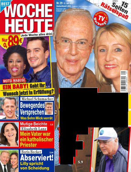 Woche Heute July 12, 2017 00:00