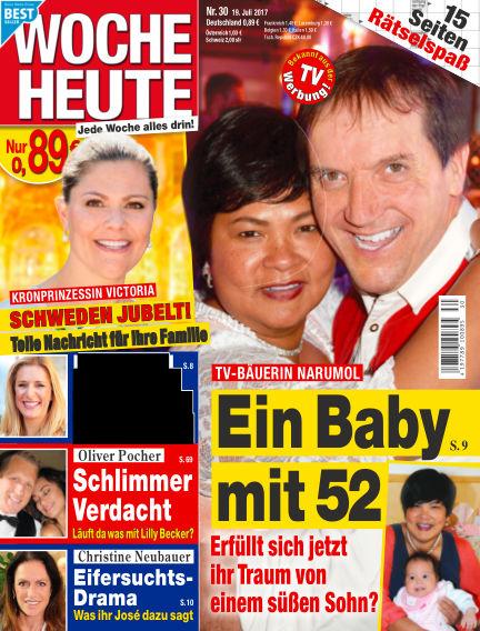 Woche Heute July 19, 2017 00:00