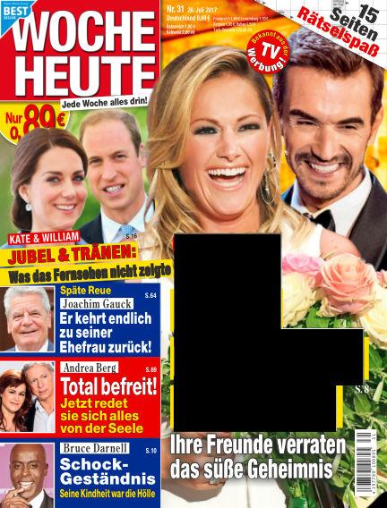Woche Heute July 26, 2017 00:00