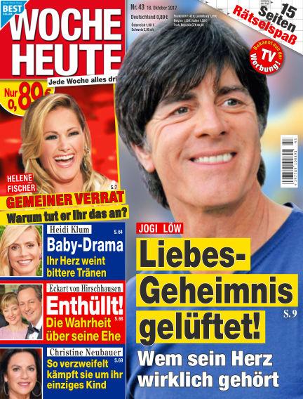 Woche Heute October 18, 2017 00:00
